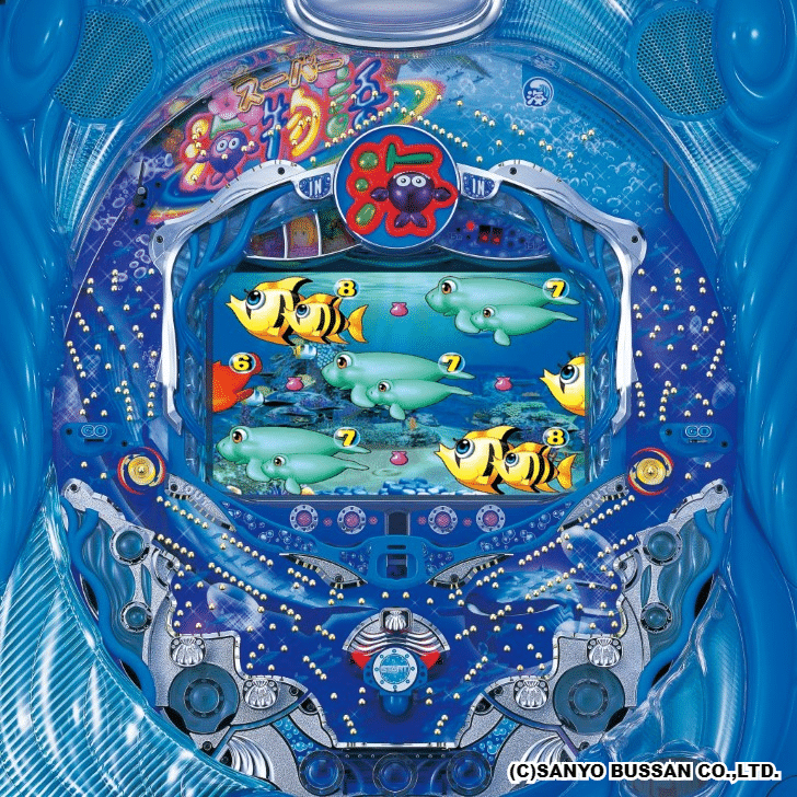 CRスーパー海物語M55W 筐体