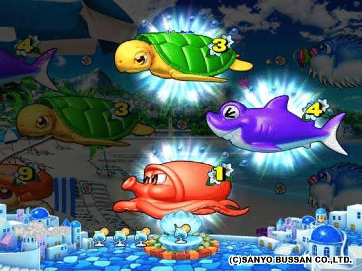 スーパー海物語 IN 地中海 ミラージュリーチ