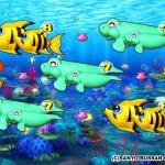スーパー海物語 IN 地中海 再始動での大当たり