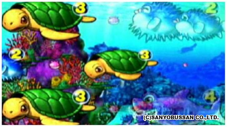 大海物語スペシャル 珊瑚礁リーチ