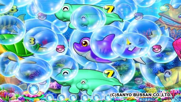 スーパー海物語 IN JAPAN2 大泡予告