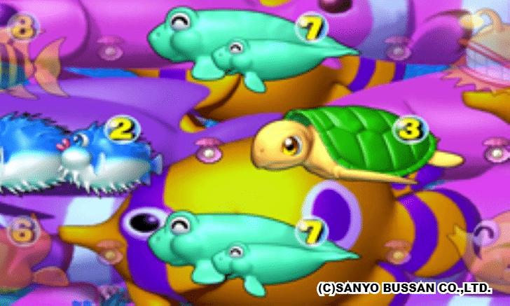 プレミアム海物語 メガ魚群