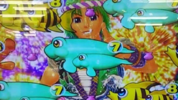 スーパー海物語 IN JAPAN 盆踊りサムリーチ