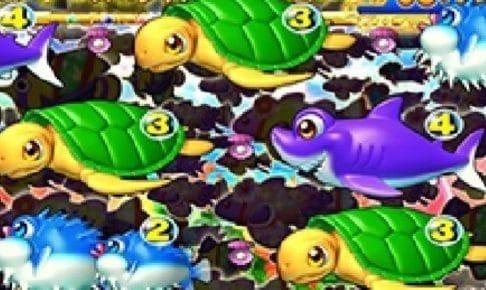 スーパー海物語 IN 沖縄3 魚群シルエット予告