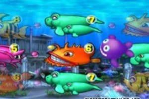 大海物語2 中段のブランク図柄がクジラッキー