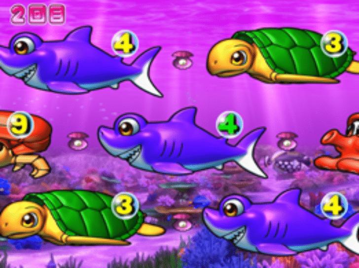 大海物語2 確変中のダブルリーチで裏サメ停止大当たり