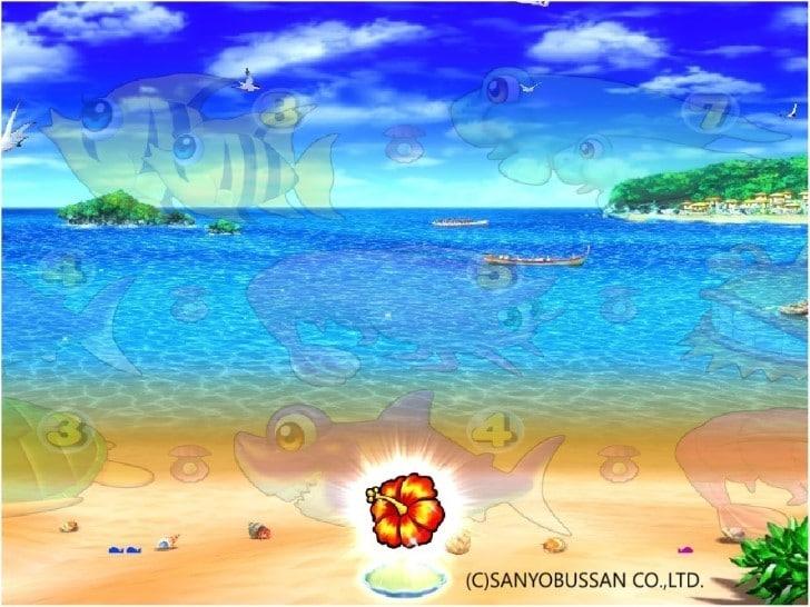 スーパー海物語 IN 沖縄3 真珠貝演出