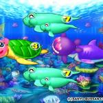 スーパー海物語 IN 沖縄3 リーチ中にクジラブリー