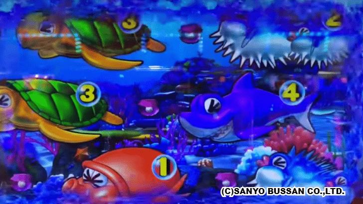 大海物語4 タッチ全回転
