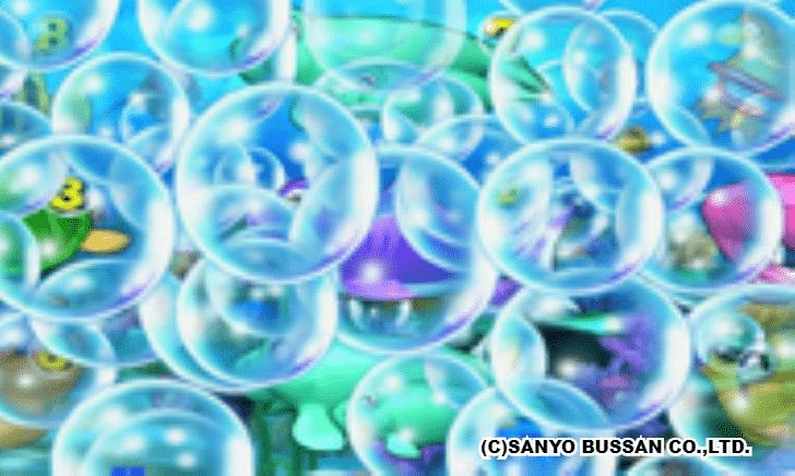 スーパー海物語 IN 沖縄2 大泡予告