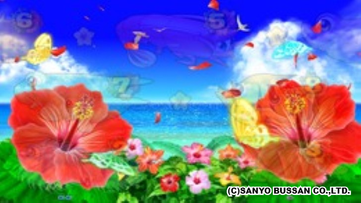 スーパー海物語 IN 沖縄4 蝶々前兆予告