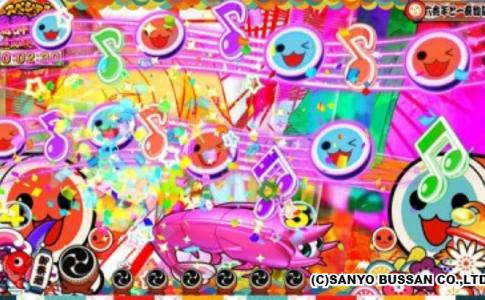 スーパー海物語 IN JAPAN2 with 太鼓の達人 図柄アクション予告