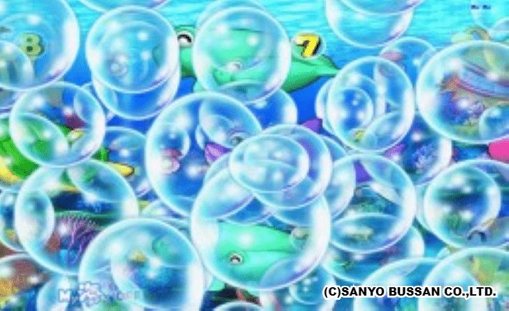 海物語3R2 大泡予告