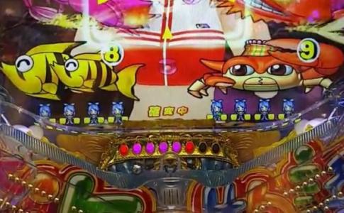 大海物語3 ドットキャラ演出