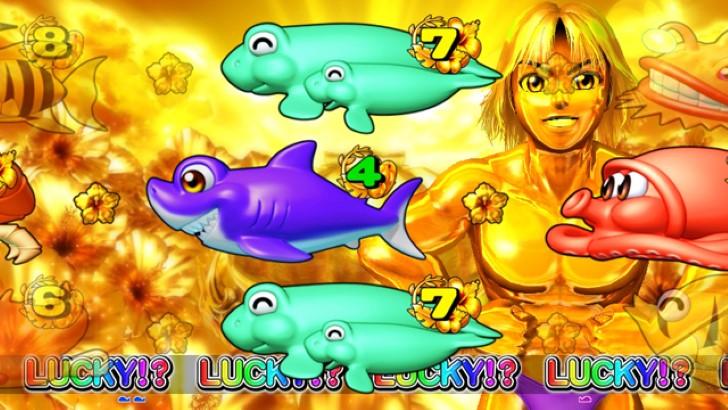 スーパー海物語IN沖縄4withアイマリン 金サムリーチ